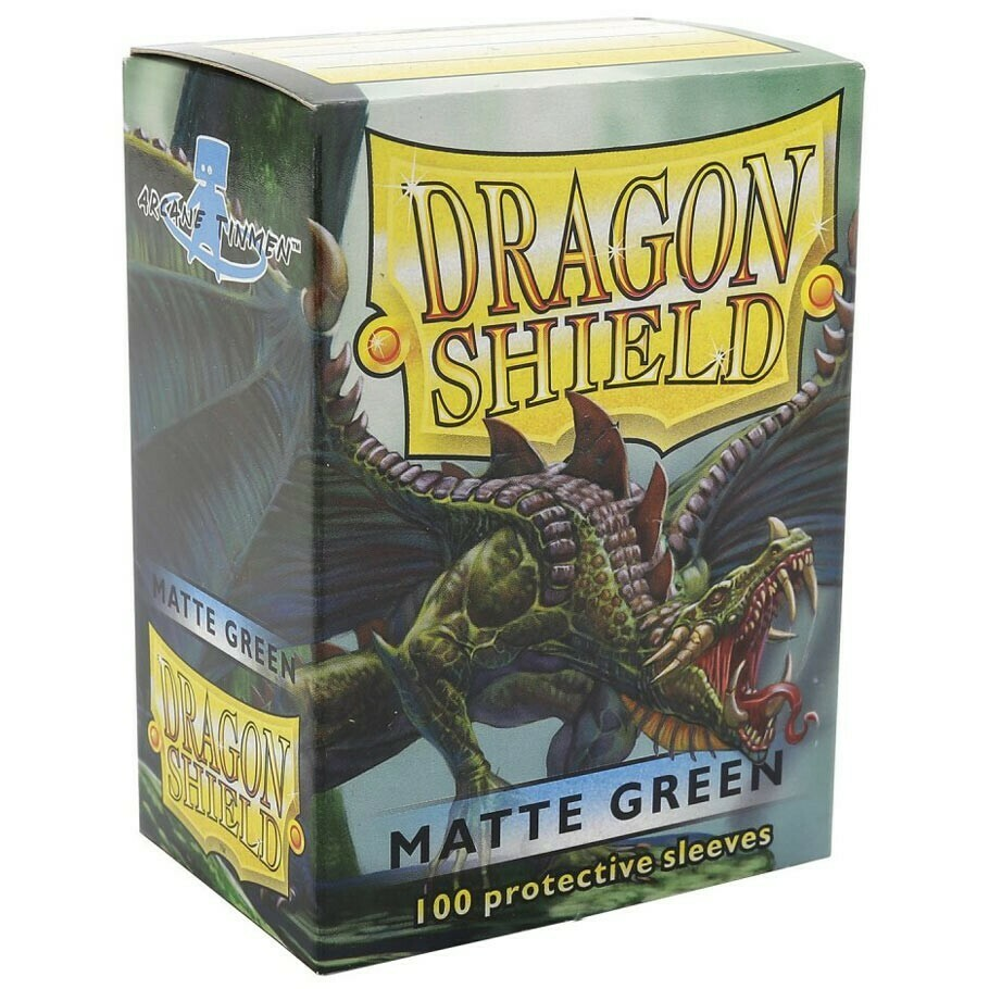 SLV: Dragon Shield Matte Green (100)