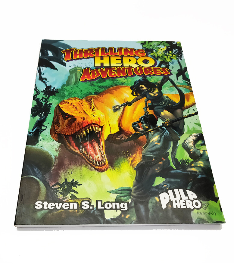 Hero System 5e: Thrilling Hero Adventures