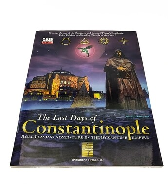 d20: The Last Days Of Constantinople