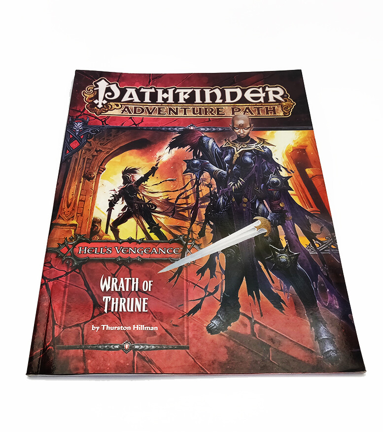 Pathfinder: AP HV2 Wrath Of Thrune (used)