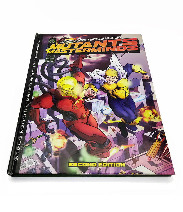 Mutants & Masterminds 2e: Core Book (used)