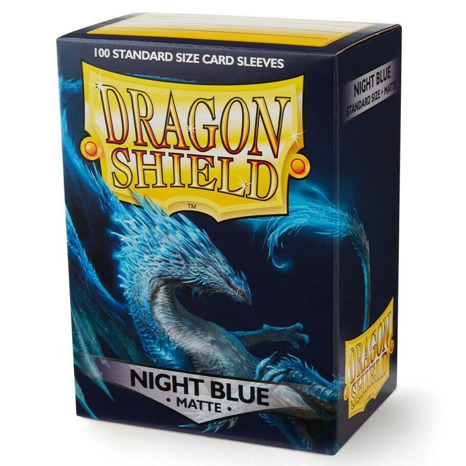 SLV: Dragon Shield Matte Night Blue (100)