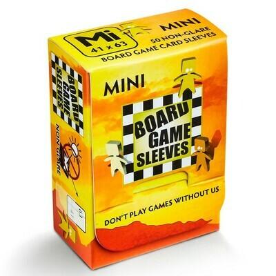 Board Game Sleeves: Mini 41x63mm (50ct)