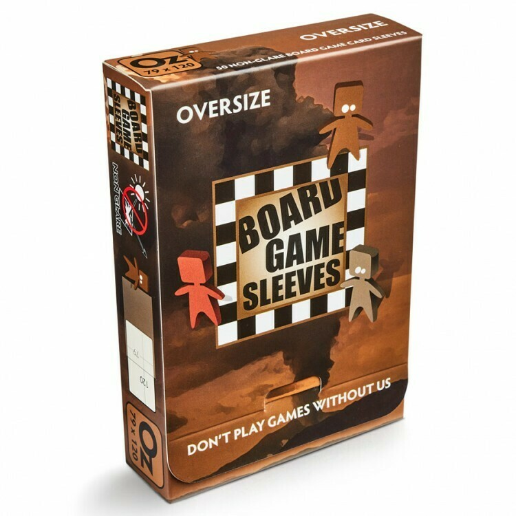 Board Game Sleeves: Oversize 79x120mm (50ct)