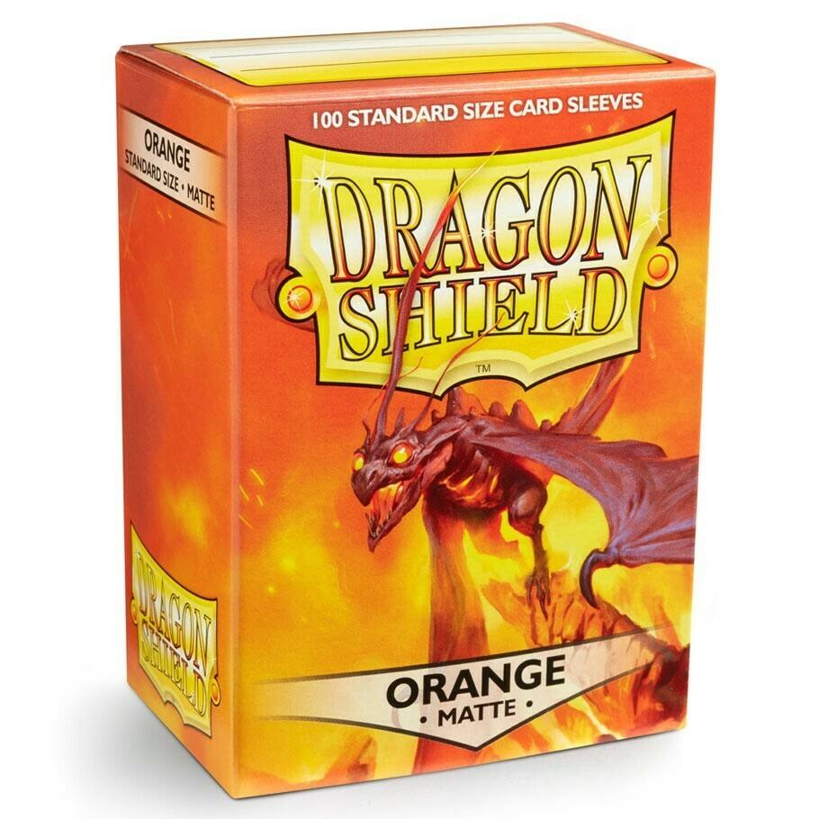 SLV: Dragon Shield Matte Orange (100)