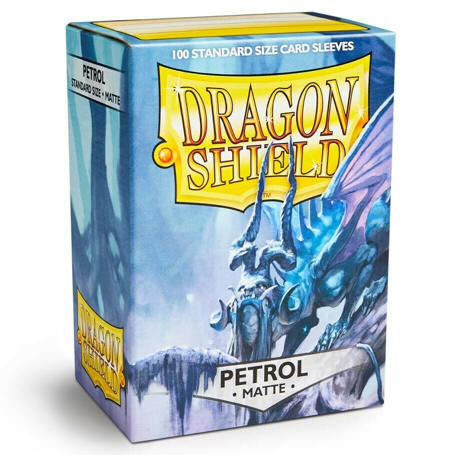 SLV: Dragon Shield Matte Petrol (100)