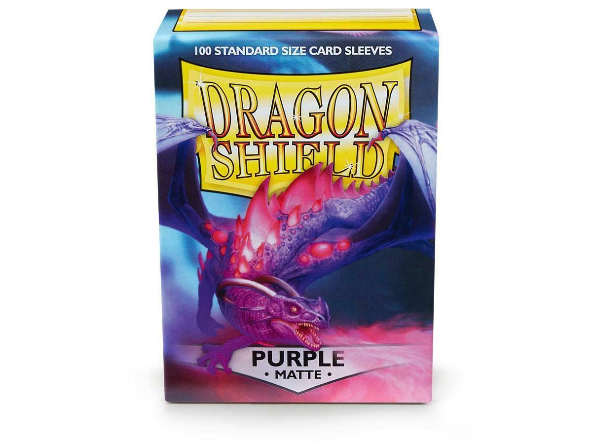 SLV: Dragon Shield Matte Purple (100)