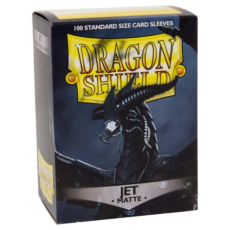 SLV: Dragon Shield Matte Jet (100)