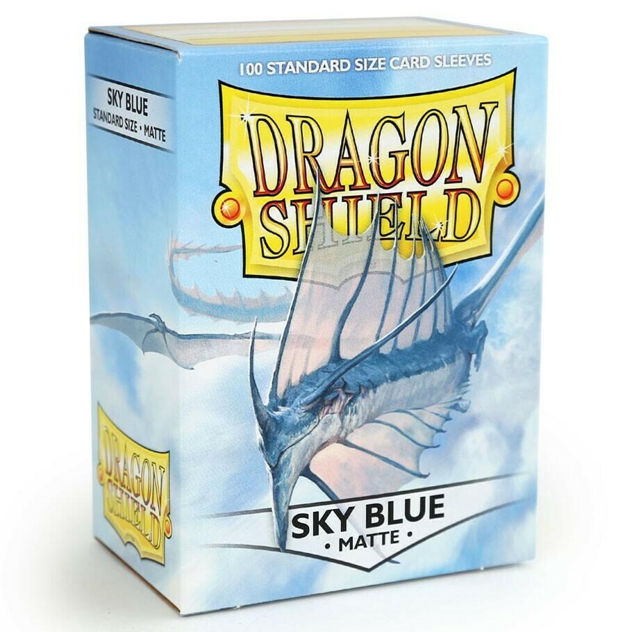 SLV: Dragon Shield Matte Sky Blue (100)