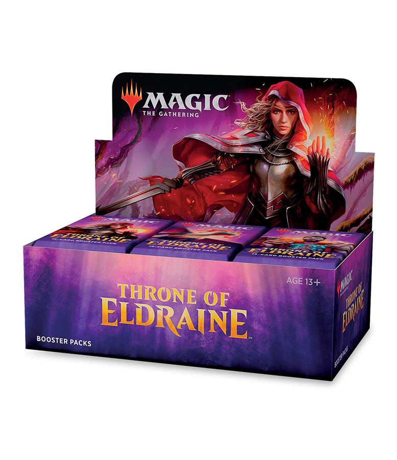 MtG: Throne Of Eldraine Draft Booster Box