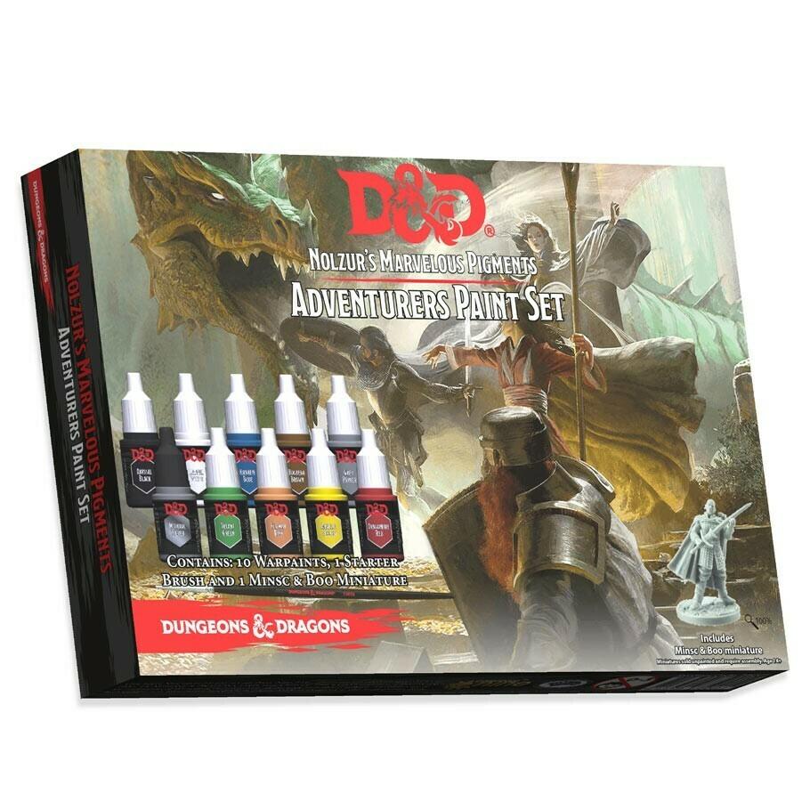 D&D: Adventurers Paint Set