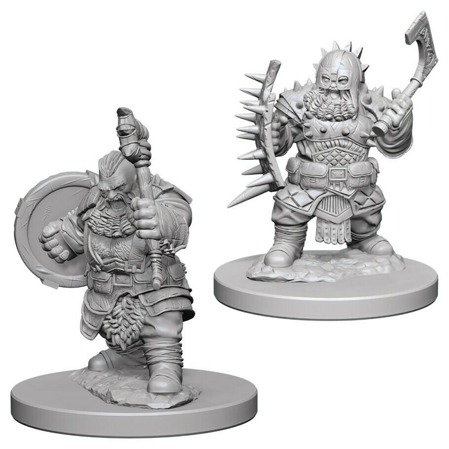 Male Dwarf Barbarian W4
