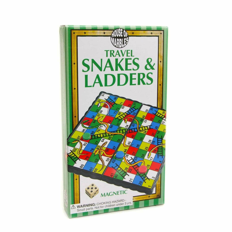 Travel Snakes & Ladders
