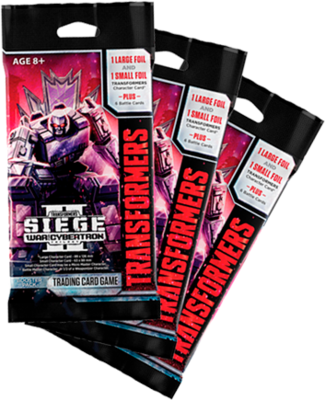 Transformers: Seige II War for Cybertron Booster Pack