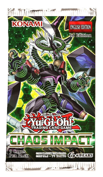 Ygo: Chaos Impact Booster Pack