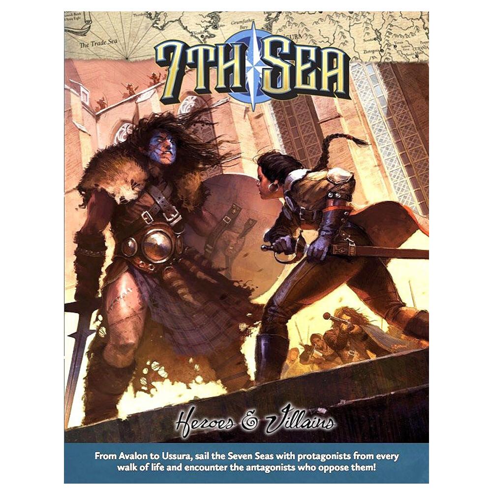 7th Sea 2e: Heroes & Villains