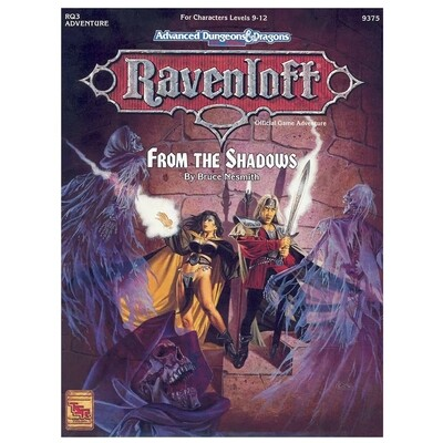 AD&D 2e: Ravenloft From The Shadows (used)