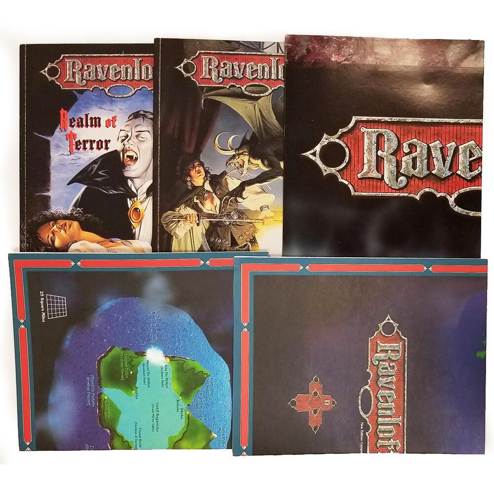 AD&D 2e: Ravenloft Campaign Setting Box Set (used)