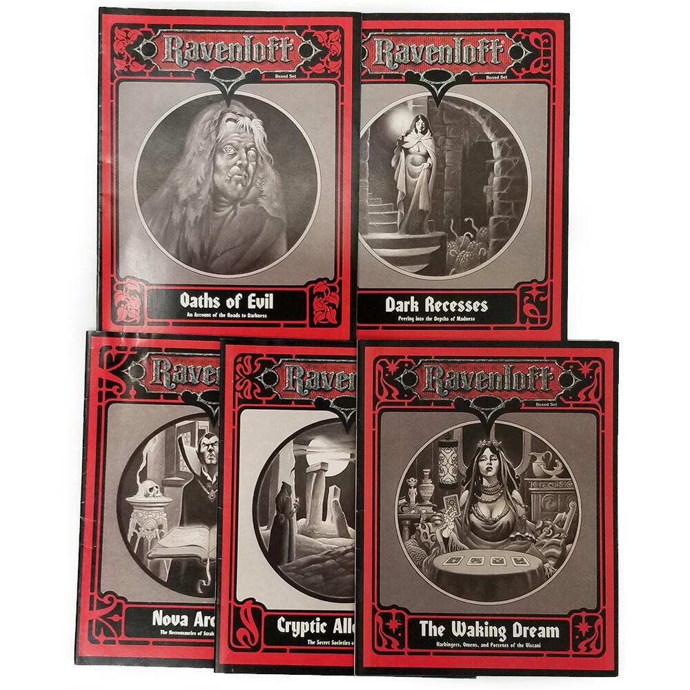AD&D 2e: Forbidden Lore Box Set (used)