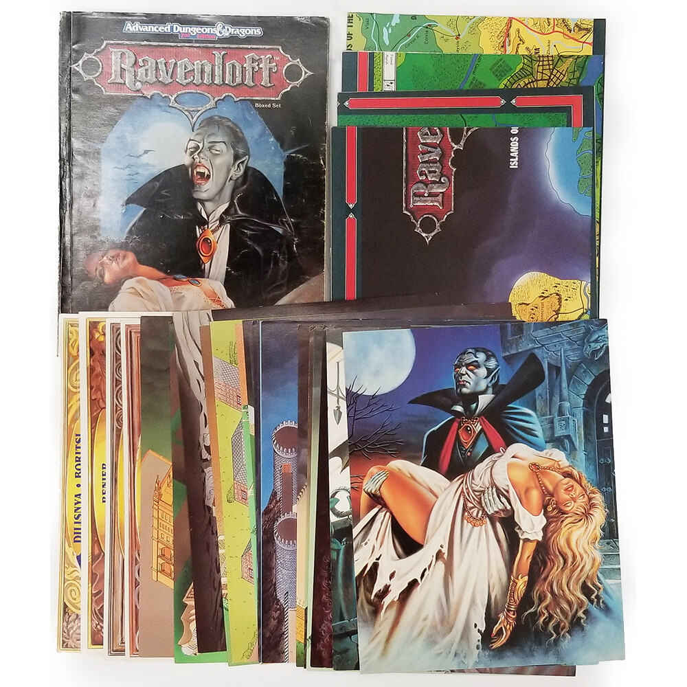 AD&D 2e: Ravenloft Realm Of Terror Box Set (used)