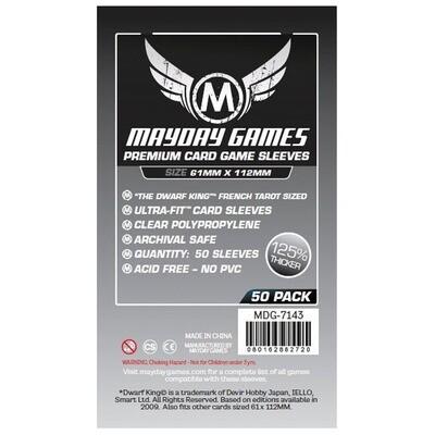 Mayday Sleeves: Premium 61x112mm (50ct)