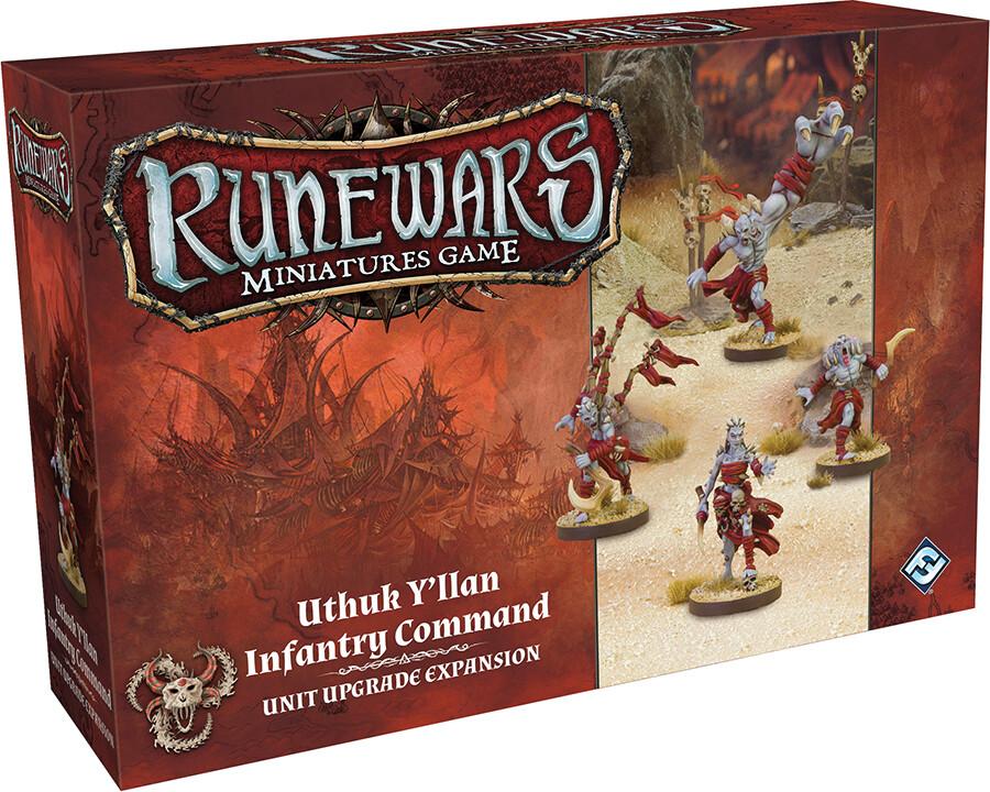 Runewars: Uthuk Y'llan Infantry Command