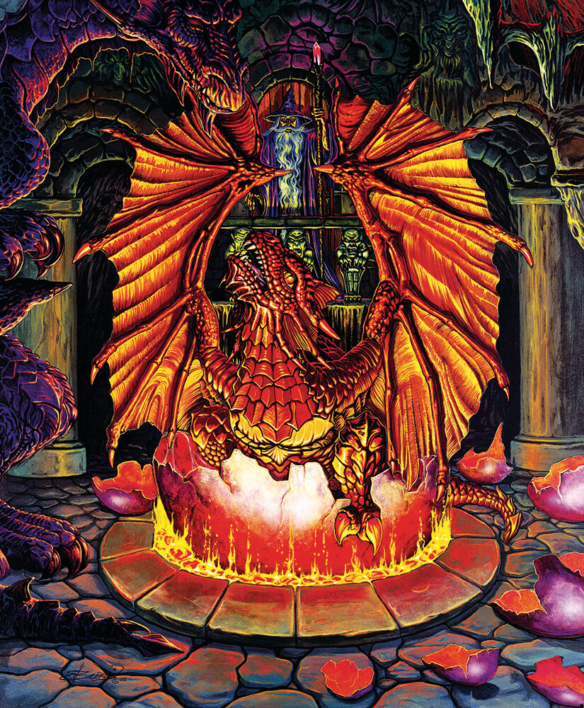 Birth of a Fire Dragon