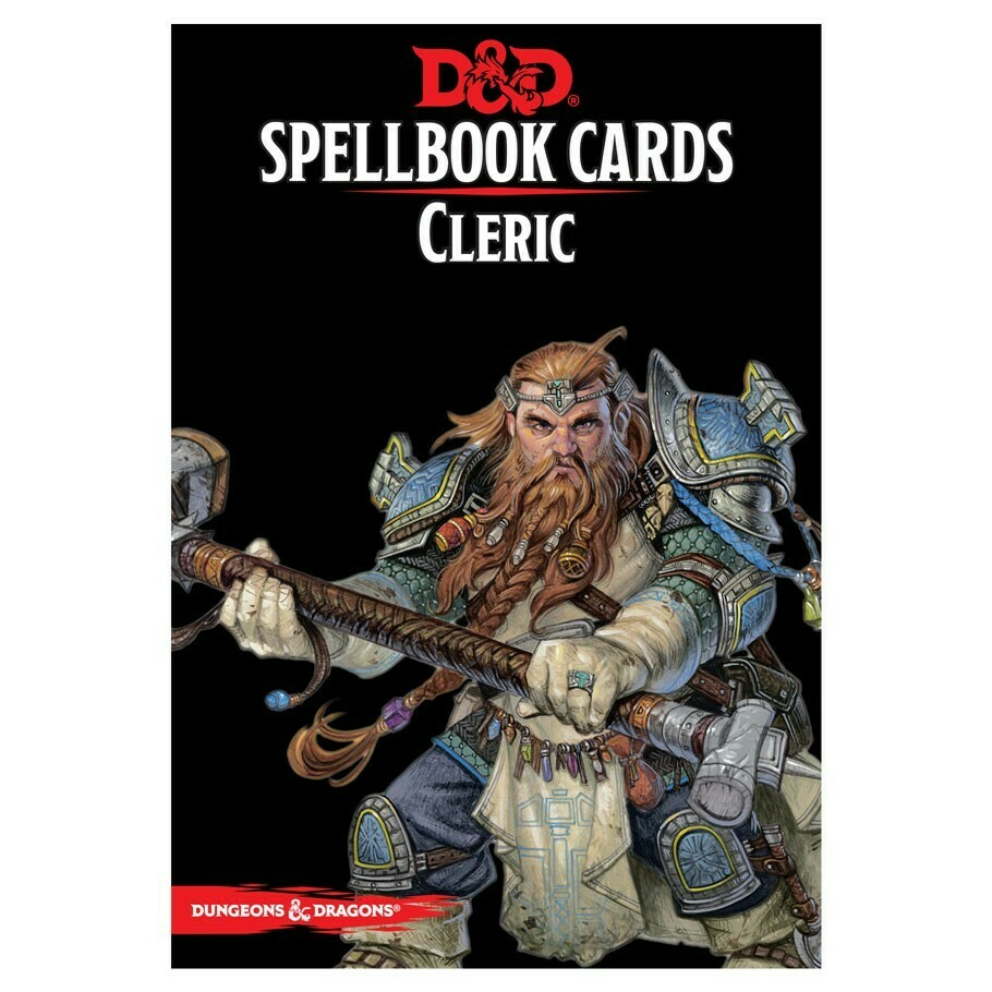 D&D 5e: Spellbook Cards: Cleric