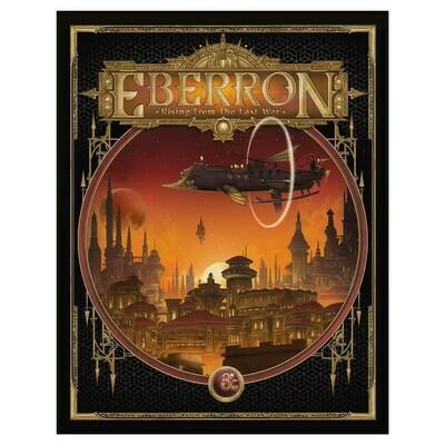 D&D 5e: Eberron Rising from the Last War (Alt Cover)