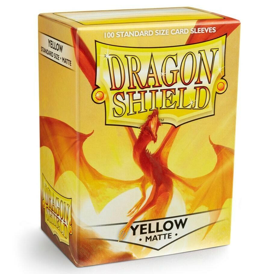 SLV: Dragon Shield Matte Yellow (100)