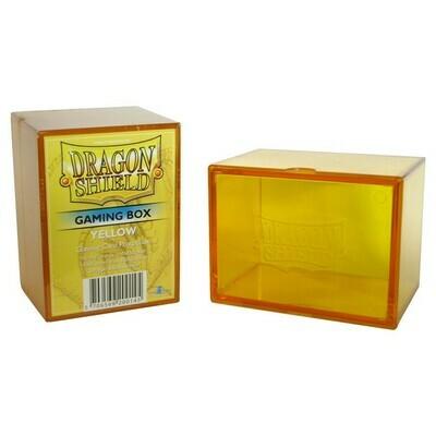Deck Box: Dragon Shield: Gaming Box Yellow