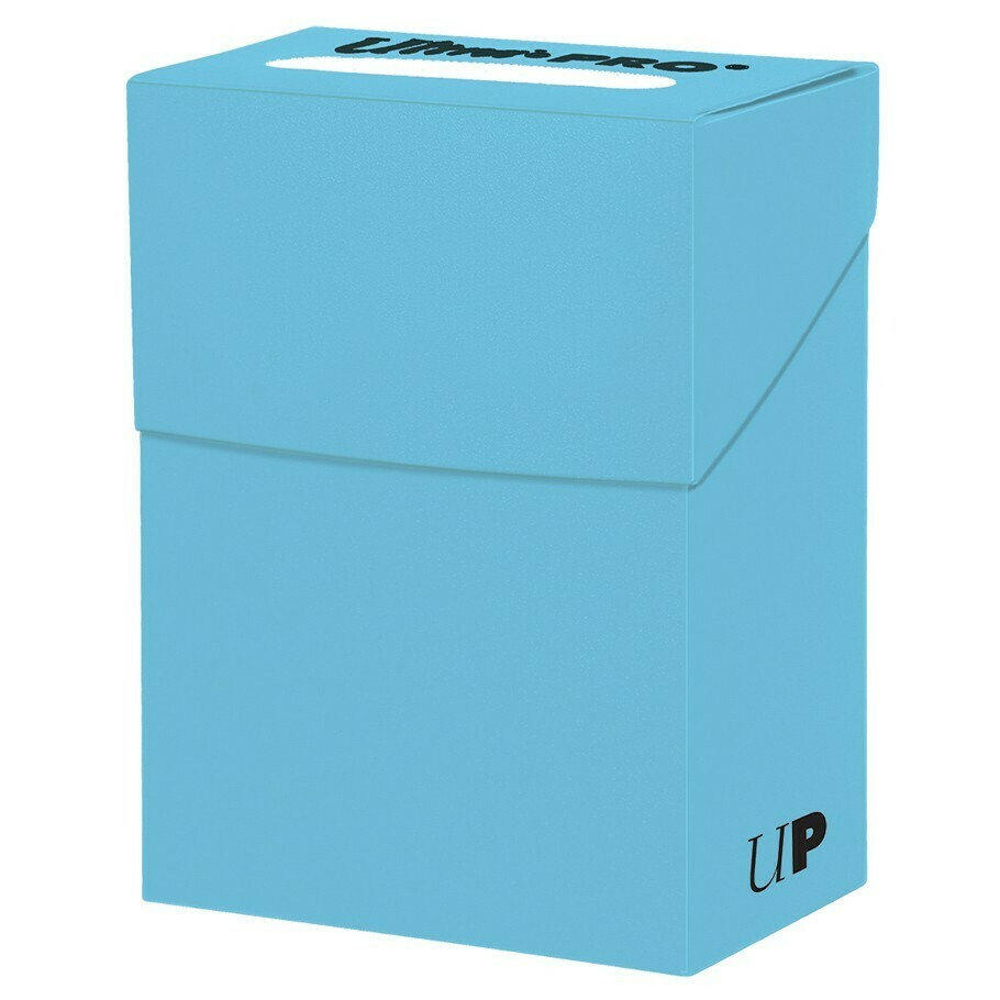 Deck Box: Solid Light Blue