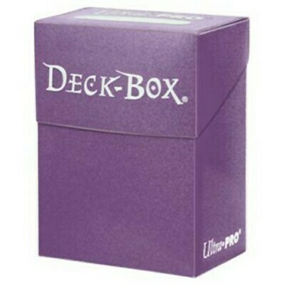 Deck Box: Solid Purple