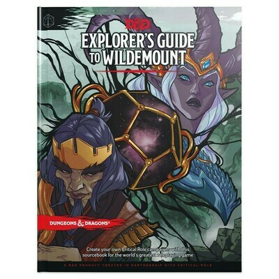 D&D 5e: Explorer's Guide to Wildemount