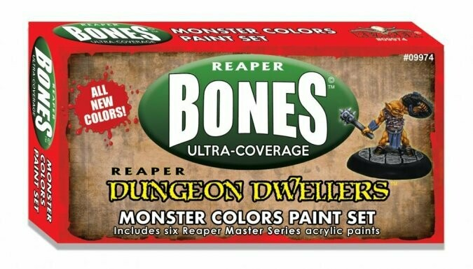 MSP Bones: Monster Colors Set