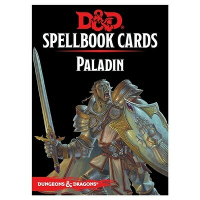 D&D 5e: Spellbook Cards: Paladin