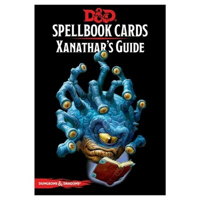 D&D 5e: Spellbook Cards: Xanathars Guide