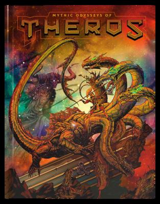 D&D 5e: Mythic Odysseys of Theros (Alt Cover)