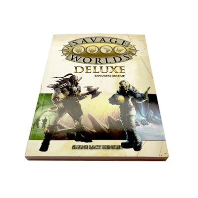 Savage Worlds Deluxe: Explorer's Edition (used)