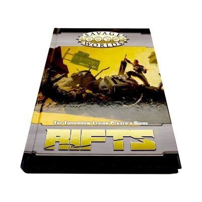 Savage Worlds: Rifts: The Tomorrow Legion Player's Guide (used)