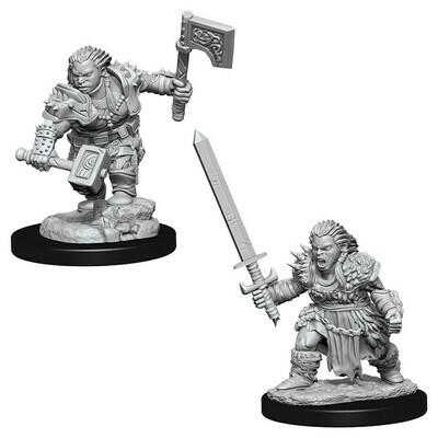 Female Dwarf Barbarian W8