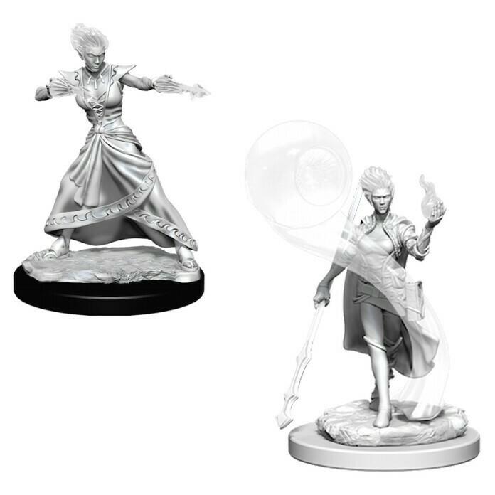 Female Fire Genasi Wizard W5