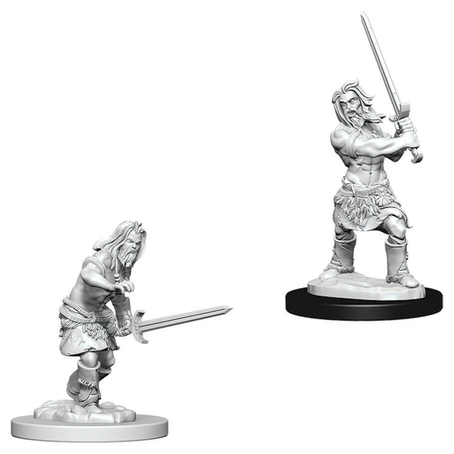 Male Human Barbarian W6