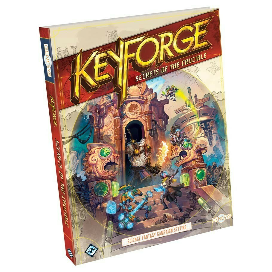 Genesys: Keyforge: Secrets of the Crucible