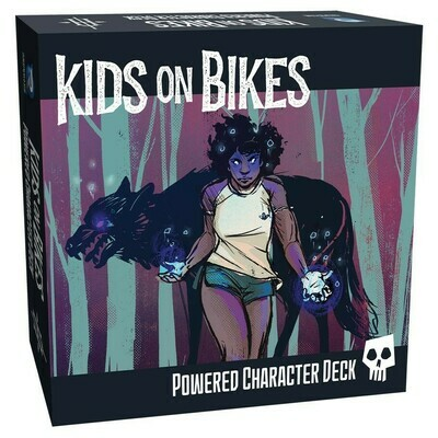 Kids on Bikes: Powered Character Deck