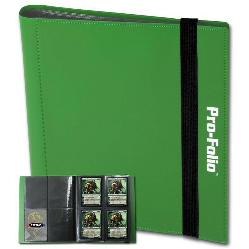 Binder: BCW 4 Pocket: Green