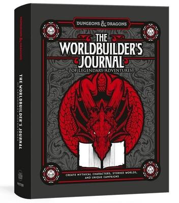 D&D: The Worldbuilder's Journal of Legendary Adventures