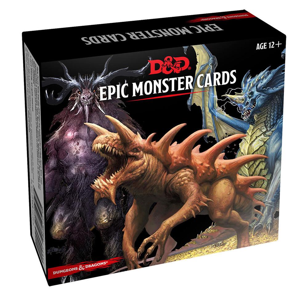 D&D 5e: Monster Cards: Epic Monsters