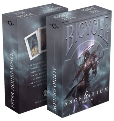 Bicycle Playing Cards: Angelarium Seraphim