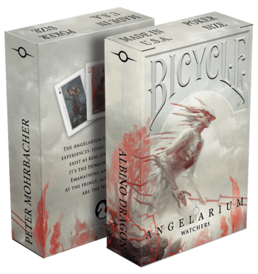 Bicycle Playing Cards: Angelarium Watchers